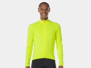 Bontrager Trikot Velocis Thermal LS M Visibility Yellow